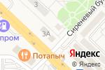 Схема проезда до компании Магазин автозапчастей в Разумном