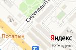 Схема проезда до компании Татьяна в Разумном