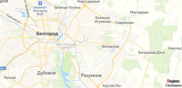 Беловское на карте