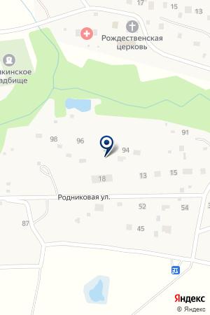 САДОВОДЧЕСКОЕ ТОВАРИЩЕСТВО ИВУШКА-1 на карте Наро-Фоминска