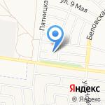 Магнит на карте Белгорода