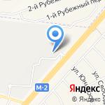 Тепличный Комплекс Белогорья на карте Белгорода