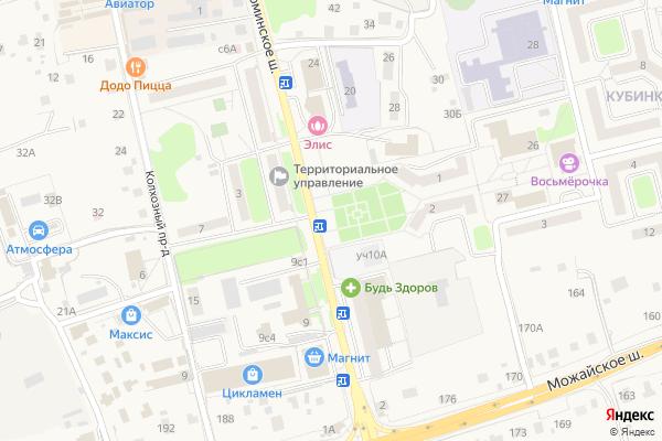 Ремонт телевизоров Город Кубинка на яндекс карте