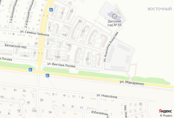жилой комплекс Виктора Лосева 25