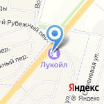 Лукойл на карте Белгорода