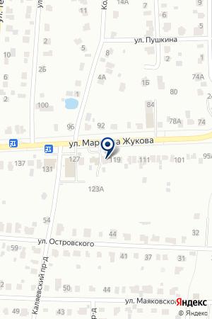 МАГАЗИН АВТОЗАПЧАСТЕЙ ЖУКОВ С.Е. на карте Наро-Фоминска