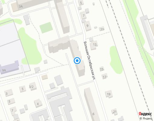 Жилищно-строительный кооператив «РАДУГА» на карте Клина