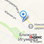 Ближнеигуменский фельдшерско-акушерский пункт на карте Белгорода