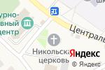 Схема проезда до компании Церковь Николая Чудотворца в Ближней Игуменке