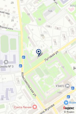 ПРОДОВОЛЬСТВЕННЫЙ МАГАЗИН МАТЮШОНОК В.М. на карте Наро-Фоминска