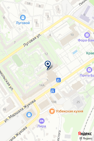 МАГАЗИН ОПТИКИ БОРОДАВКО Н.А. на карте Наро-Фоминска