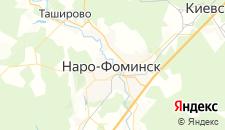 Гостиницы города Наро-Фоминск на карте