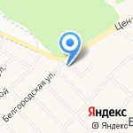 Метла на карте Белгорода
