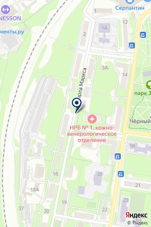 ГСК ТЕКСТИЛЬЩИК на карте Наро-Фоминска