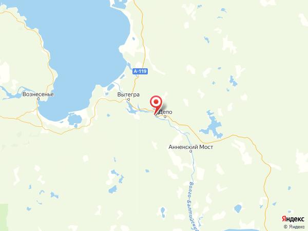 поселок Новинки на карте