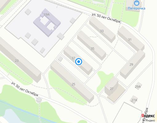 Товарищество собственников жилья «Рассвет» на карте Клина