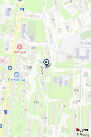 ОХРАННАЯ ФИРМА РУСЛАН на карте Наро-Фоминска