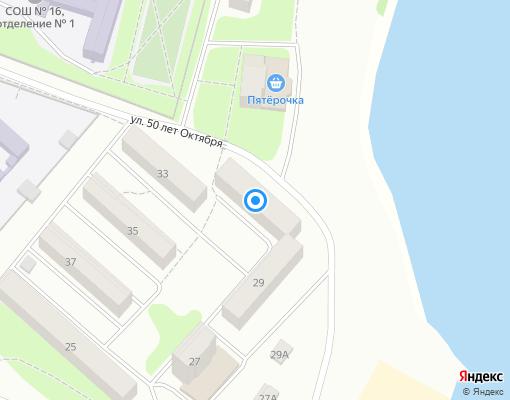 Товарищество собственников жилья «Звездочка» на карте Клина