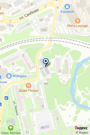 ПРОФЕССИОНАЛЬНОЕ УЧИЛИЩЕ № 112 на карте Наро-Фоминска