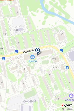 ПРОДОВОЛЬСТВЕННЫЙ МАГАЗИН БУЛАНОВ И.В. на карте Наро-Фоминска