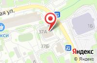 Схема проезда до компании Дартс в Наро-Фоминске