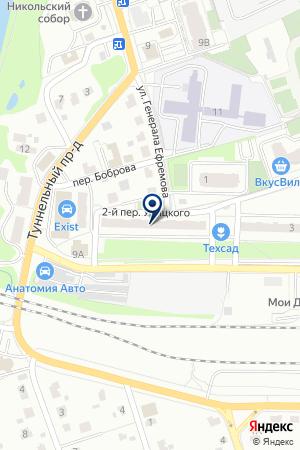 ДЕТЕКТИВНОЕ АГЕНТСТВО ДИЛЕММА на карте Наро-Фоминска