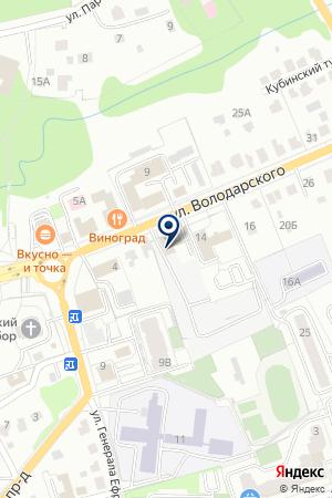 ОХРАННОЕ ПРЕДПРИЯТИЕ ДИАМАНТ-ГАРАНТ на карте Наро-Фоминска