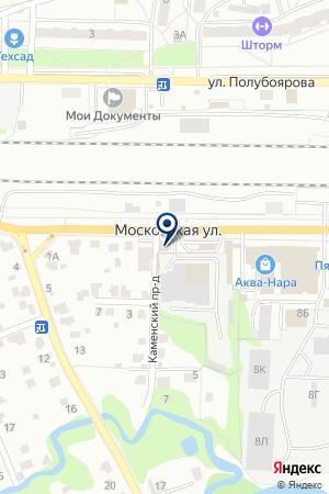 МАГАЗИН АВТОЗАПЧАСТЕЙ СЕМЕНИХИН В. В. на карте Наро-Фоминска