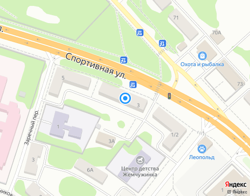 Управляющая компания «Жилсервис» на карте Клина