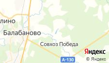 Гостиницы города Спас-Прогнанье на карте
