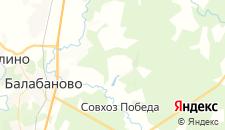 Отели города Алопово на карте
