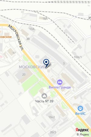 ПТФ НАРО-ФОМИНСКИЕ ОКОННЫЕ СИСТЕМЫ на карте Наро-Фоминска