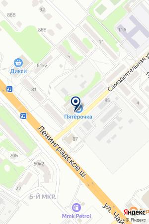 МЕБЕЛЬНЫЙ САЛОН ОДИТОР на карте Клина