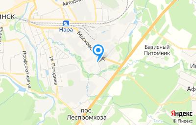 Местоположение на карте пункта техосмотра по адресу Московская обл, г Наро-Фоминск, ул Московская