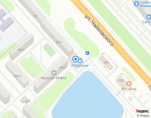 Управляющая компания «ЖЭУ УКС-4» на карте Клина