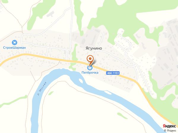Остановка Ягунино (Московская область)