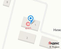 Схема местоположения почтового отделения 162521
