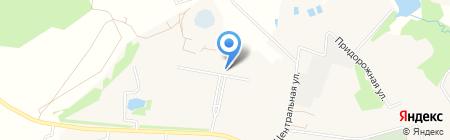 Бужаровская средняя общеобразовательная школа на карте Бужарово