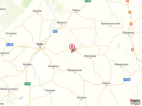село Березовец на карте
