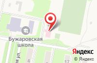 Схема проезда до компании Администрация сельского поселения Бужаровское в Бужарово