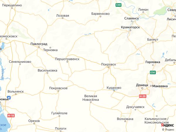 село Степовое на карте