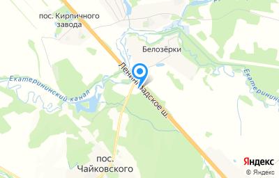 Местоположение на карте пункта техосмотра по адресу Московская обл, г Клин, ш Ленинградское, д 81