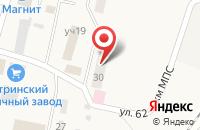 Схема проезда до компании Чеховская амбулатория в Первомайском