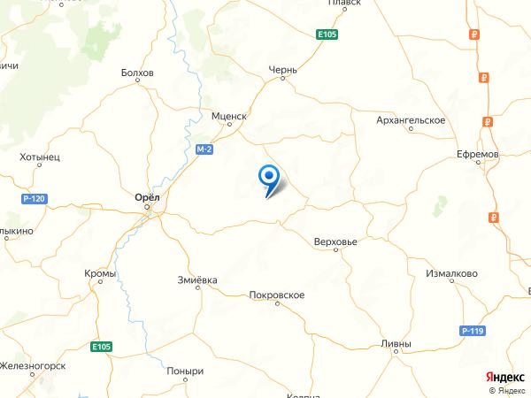село Грачёвка на карте
