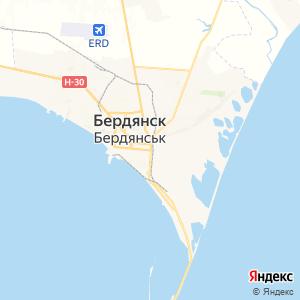 Карта города Бердянска