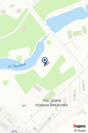 ГАРАЖ АВТОТРАНСПОРТНЫЙ ЦЕХ № 4 на карте Наро-Фоминска
