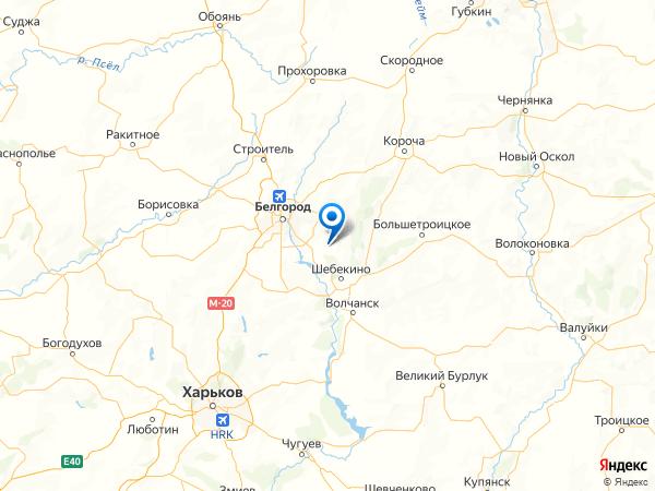 поселок Поляна на карте