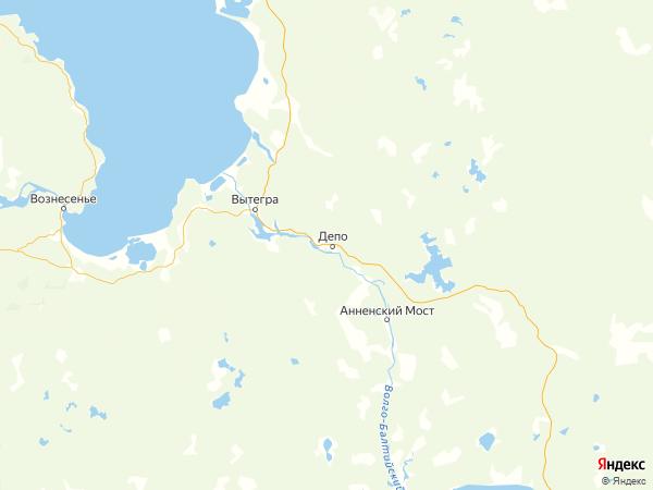 деревня Андреевская на карте