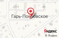 Схема проезда до компании Почтовое отделение №143063 в Гари-Покровском