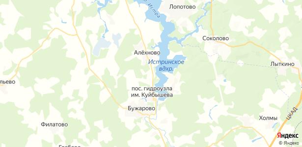 Ламишино на карте